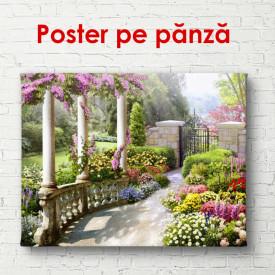 Poster, Culori luminoase în parcul verde