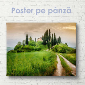 Poster, Drumul spre sat