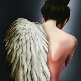 Poster, Înger blând