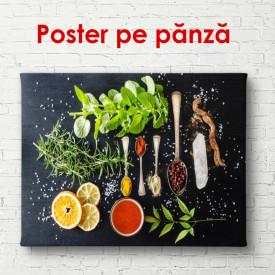 Poster, Ingrediente pentru mâncare