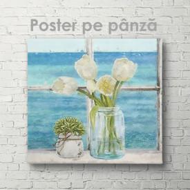 Poster, Lalele albe