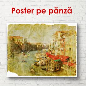 Poster, Orasul vechi frumos pe apa