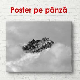 Poster, Peisaj montan alb-negru