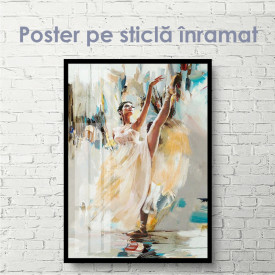 Poster, Portret de balerină