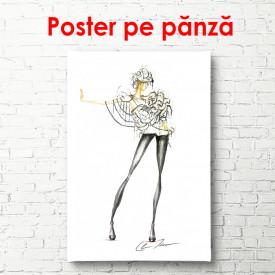 Poster, Schiță unui model