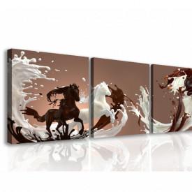Tablou modular, Cai ciocolatii.