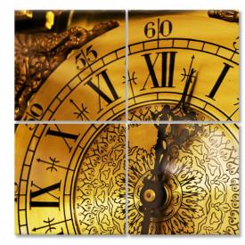 Tablou modular, Ceasul de aur.