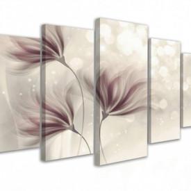 Tablou modular, Fantezia florilor delicate