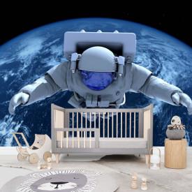 Fototapete, Cosmonaut în spațiul cosmic