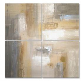 Multicanvas, Abstracția bej.