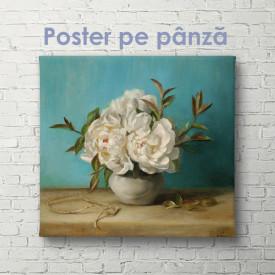 Poster, Bujori bej
