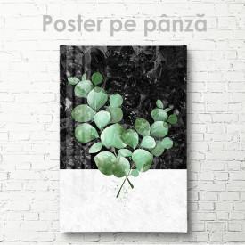 Poster, Crenguță în acuarelă