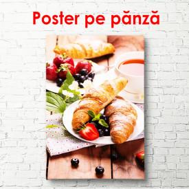 Poster, Mic dejun francez adevărat