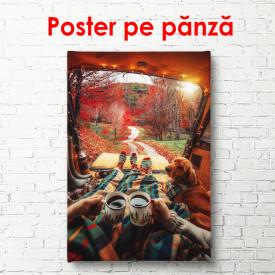 Poster, O zi de toamnă în pădure