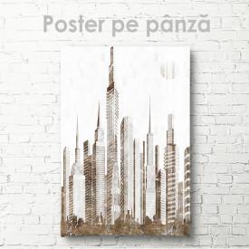Poster, Oraș în gri