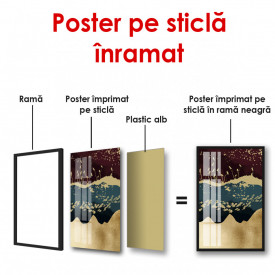 Poster, Peisaj abstract