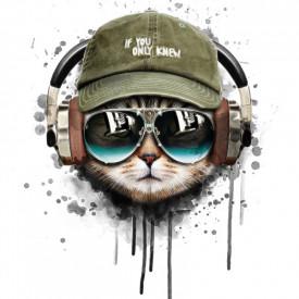 Poster, Pisică modernă