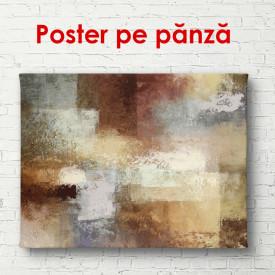 Poster, Textură abstractă maro