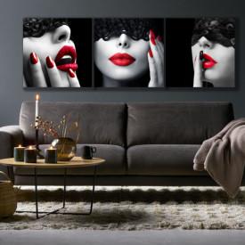 SET, Doamnă cu buzele roșii