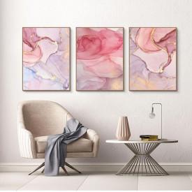 SET, Marmură roz-pal