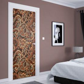 Stickerele decorative, pentru uși, Ornamente frumoase, 1 foaie de 80 x 200 cm