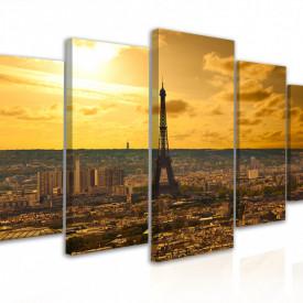 Tablou modular, Paris - vedere de sus