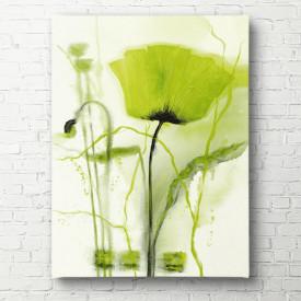 Tablouri Canvas, Floarea verde