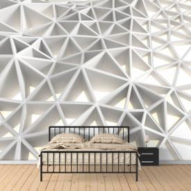 Fototapet Pentru Tavan, Zidul din triunghiuri