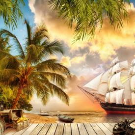 Fototapet, Plaja piraților