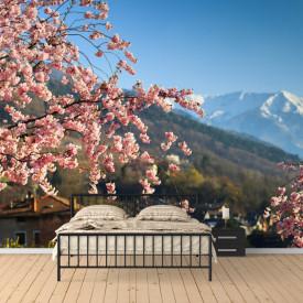 Fototapet, Sakura japoneză