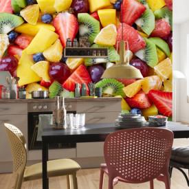 Fototapet, Salata de fructe