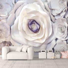 Fototapete, Flori de argint
