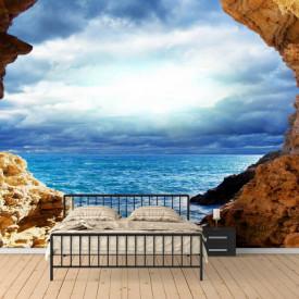 Fototapete, Peștere cu vedere la mare