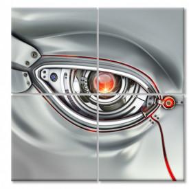 Multicanvas, Ochiul roșu al robotului.