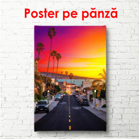 Poster, Apus de soare în Miami