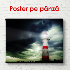 Poster, arul mării într-o seară înnorată