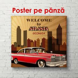 Poster, Bine ați venit în Atlanta
