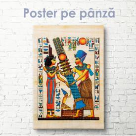 Poster, Desen egiptean
