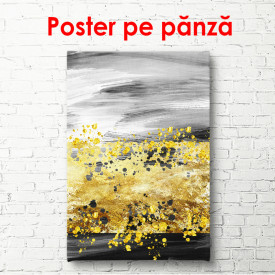 Poster, Fantezie galben-cenușie