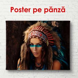 Poster, Fată tânără