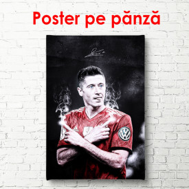 Poster, Fotbalist vesel
