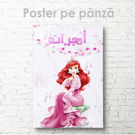 Poster, Frumoasa Ariel