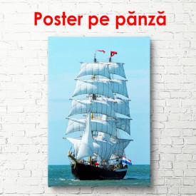Poster, Navă cu pânze