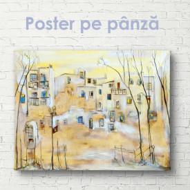 Poster, Pictura orașului în culori