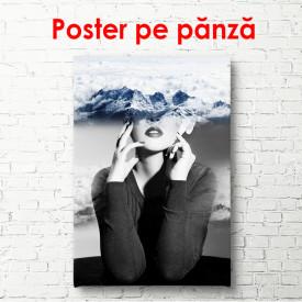 Poster, Portretul unei fete în nori