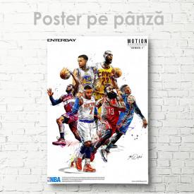 Poster, Poster echipei de baschet