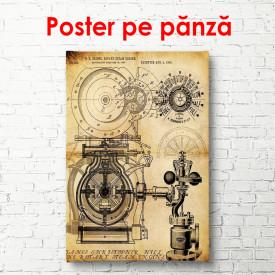 Poster, Schema vintage