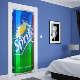 Stickere 3D pentru uși, Sprite, 1 foaie de 80 x 200 cm