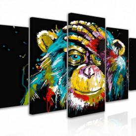 Tablou modular, Maimuță abstractă