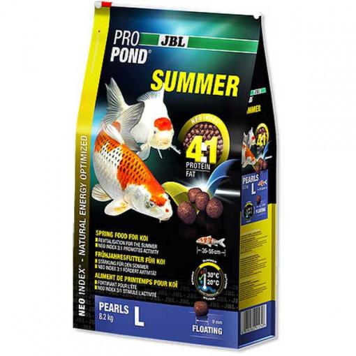 Hrana completa vara pesti koi JBL ProPond Summer L 8,2 kg